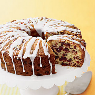 Fresh Orange-Cranberry Pound Cake.