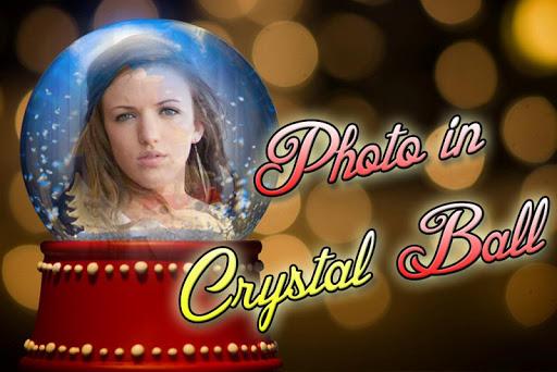 Photo Crystal Ball Frames