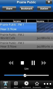 Prairie Public Radio App - screenshot thumbnail