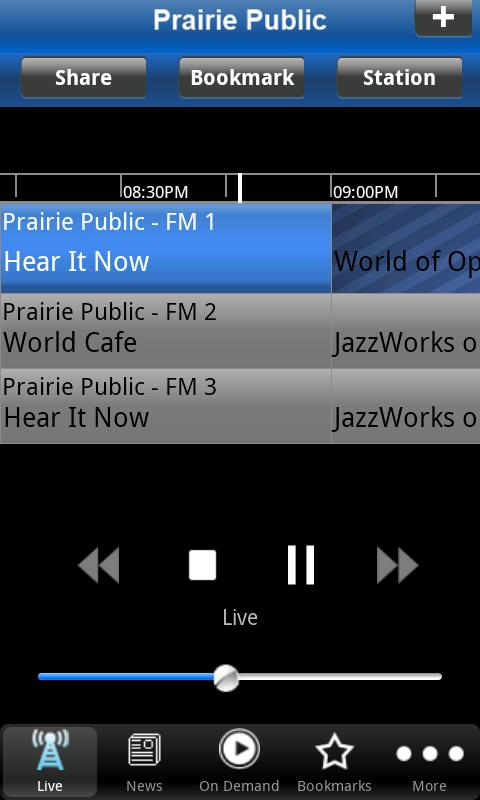 Prairie Public Radio App - screenshot