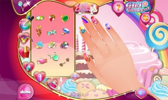 Screenshot of Candy Design Nail Studio
