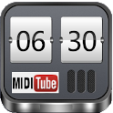 Midi Alarm Clock - use youtube icon