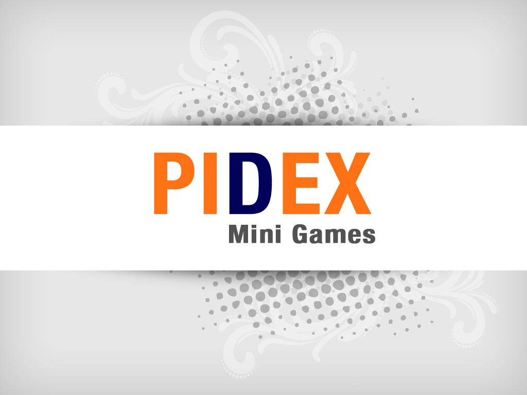 Pidex Mini Games - screenshot
