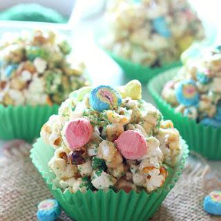 St. Patrick's Day Popcorn Balls.