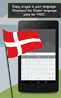 Screenshot of ai.type Danish Predictionary