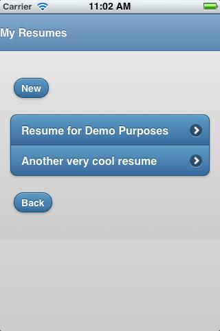 Best Resume Creator- screenshot