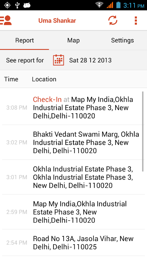 Locate by MapmyIndia - screenshot