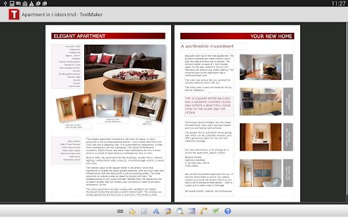 Office: TextMaker Mobile - screenshot thumbnail