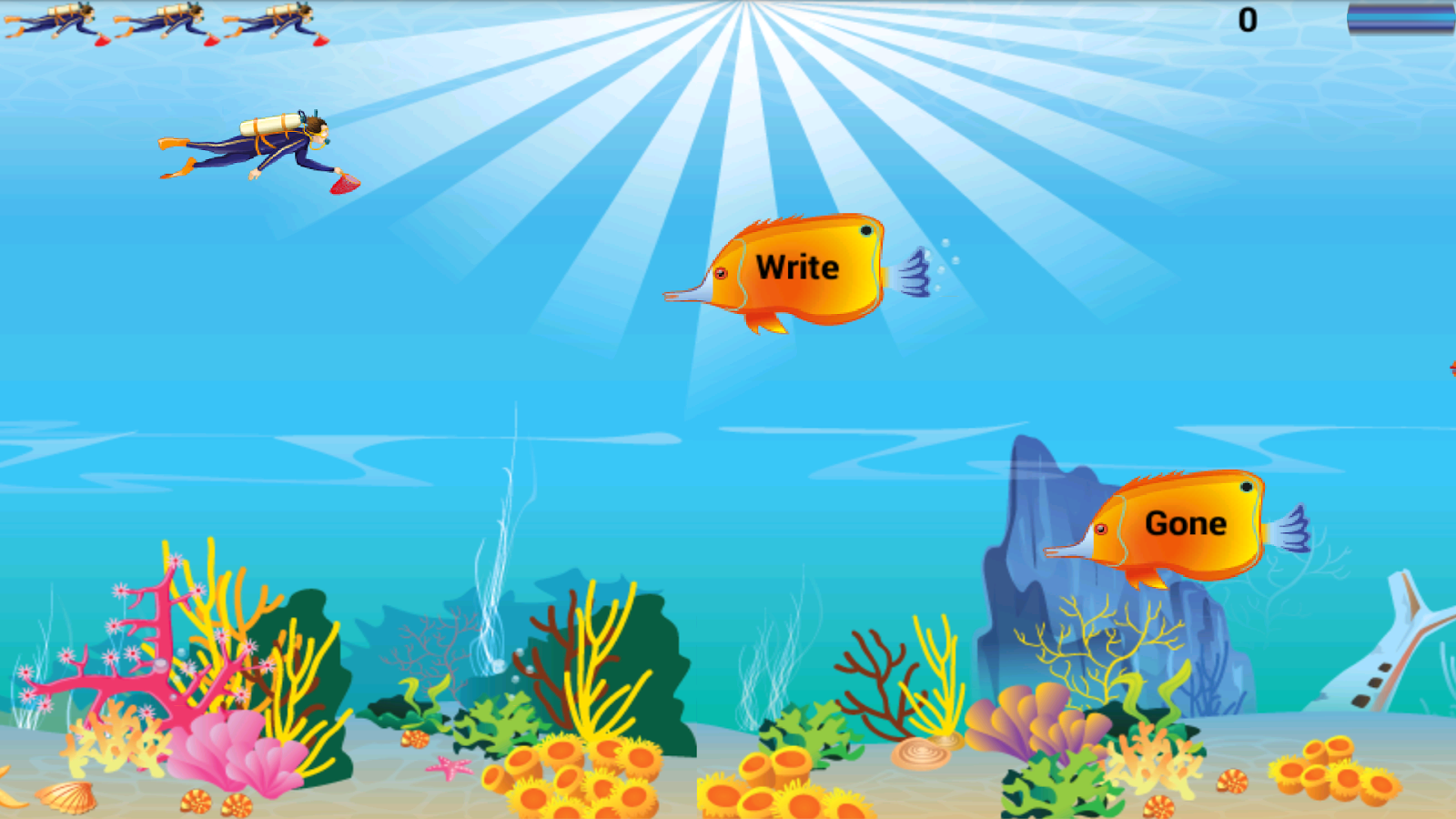 Fish game driverlayer search engine for Kids fishing game
