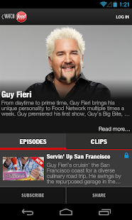 Watch Food Network - screenshot thumbnail