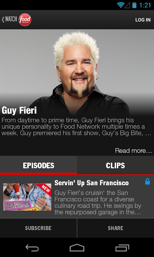 Watch Food Network - screenshot