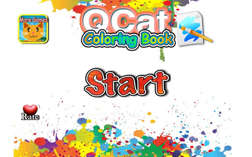 QCAT - 色塗り子供ハッピー coloring book|玩書籍App免費|玩APPs