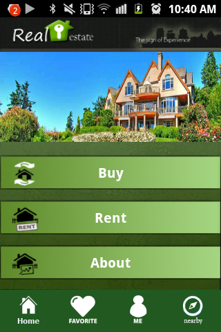 Real Estate App Demo