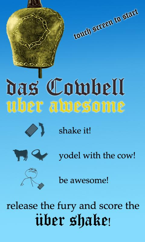 das Cowbell PREMIUM- screenshot