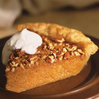 Fall Harvest Sweet Potato Pie.