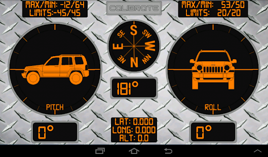 RollMeOverTrial - Inclinometer - screenshot thumbnail