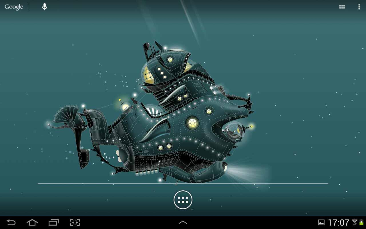 The Nautilus LWP - screenshot
