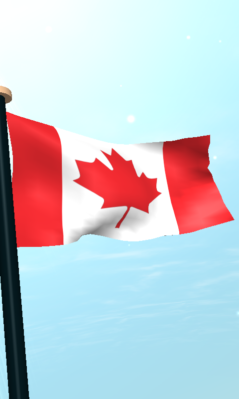 Canada flag 3d free wallpaper android apps on google play for 3d wallpaper canada