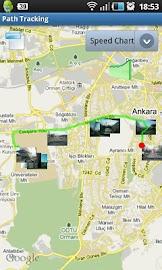 Path Tracking Screenshot 2