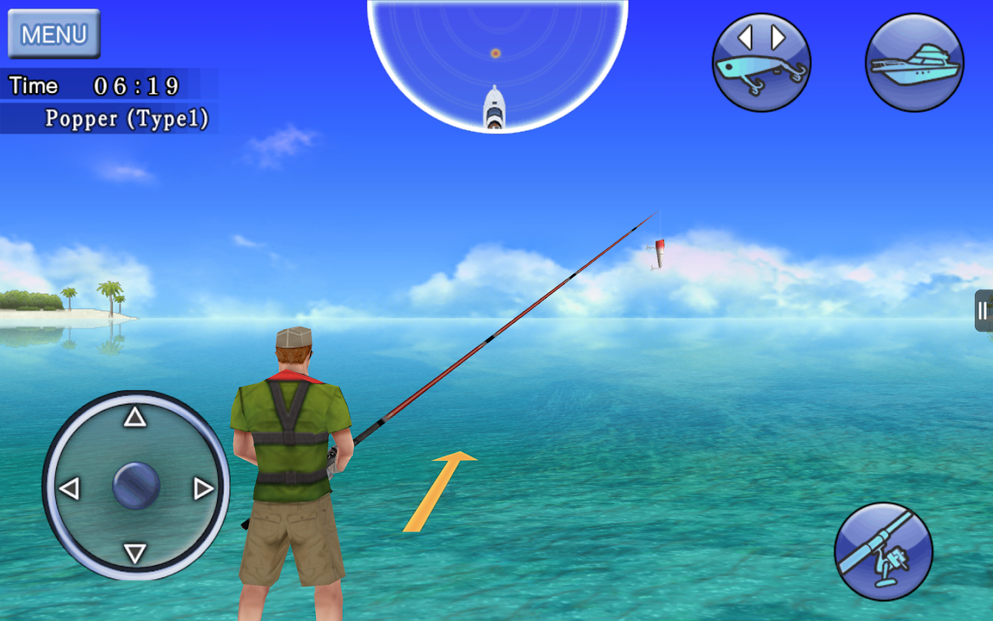 Excite BigFishing Free - screenshot