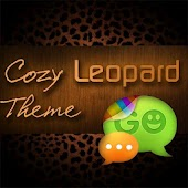 GO SMS Pro Leopard Theme