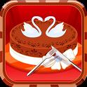 Chocolate royal cake game icon