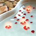 Water Candles LWP icon