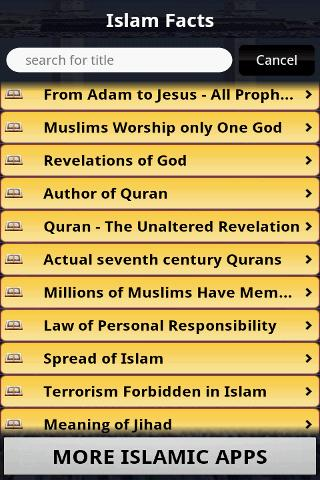 Islam - 30 Facts - screenshot