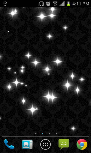Glitter Star Live Wallpaper