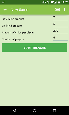 PokerCast - screenshot
