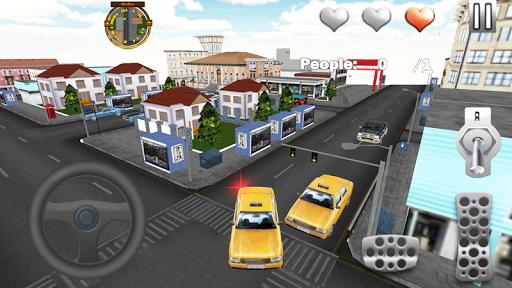 真正的城市出租車