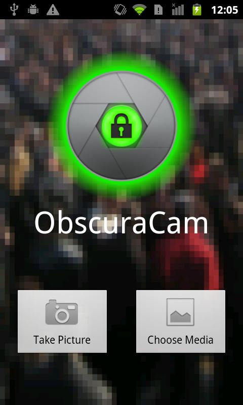 ObscuraCam- screenshot