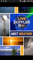 Screenshot of ABC7 Weather: SF/Bay Area