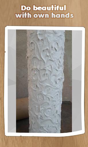 直接的花瓶。手工制作