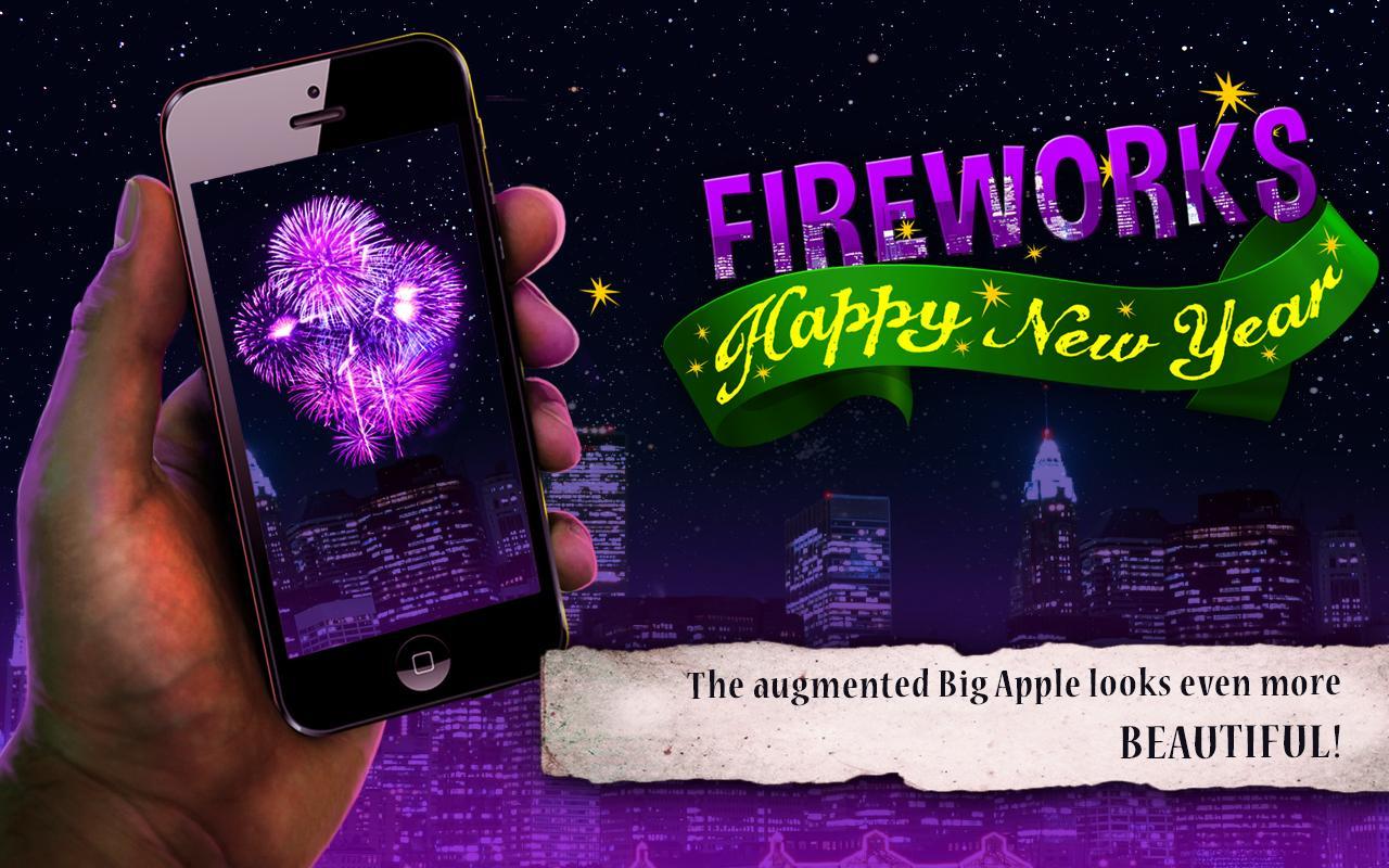 Happy New Year Fireworks- screenshot