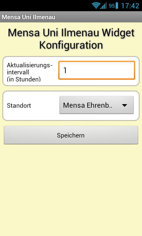 Mensa Ilmenau- screenshot