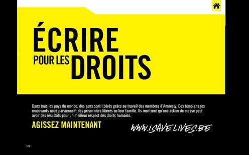 Le Fil d'Amnesty International- screenshot thumbnail