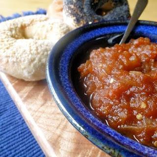 Sweet & Spicy Tomato Chutney.
