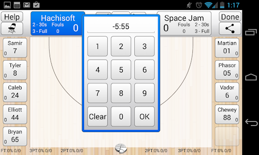 Basketball Stat Tracker - screenshot thumbnail