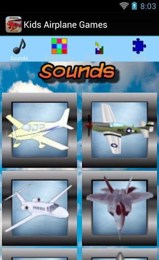 Kids Airplane Games Free