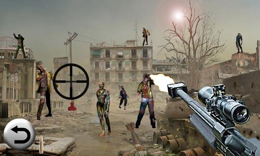 【免費動作App】狙擊遊戲 - 殭屍射擊-APP點子