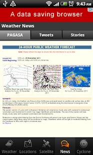 PH Weather - screenshot thumbnail