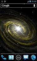 Screenshot of Galaxy Light Live Wallpaper
