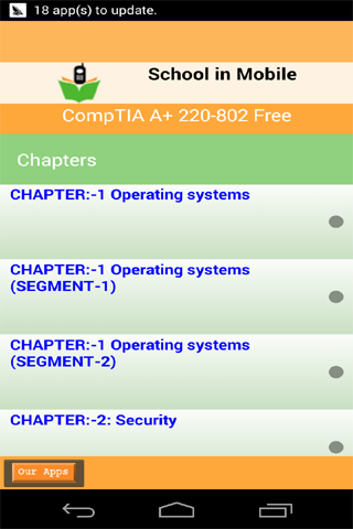 CompTIA的A +220-802免费