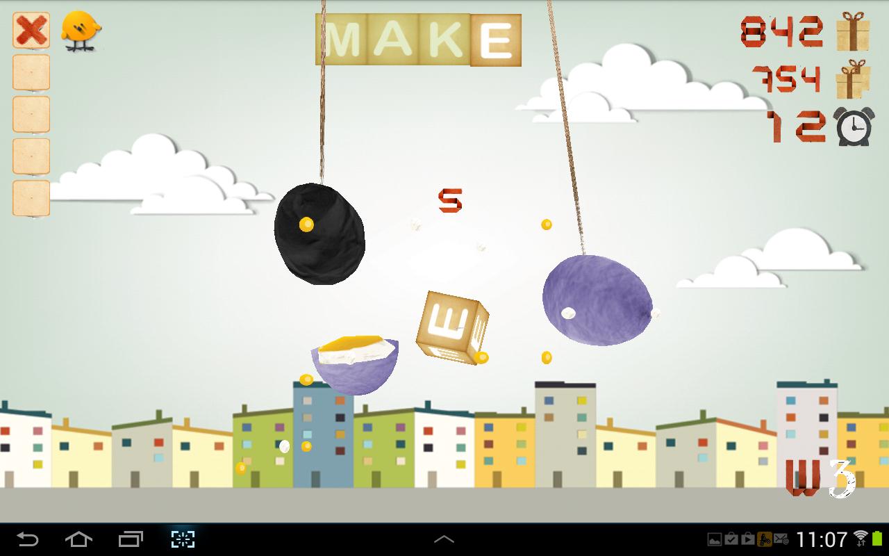 Σπάσε τα αβγά - στιγμιότυπο οθόνης