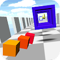 Flying Cube Racing 3D icon