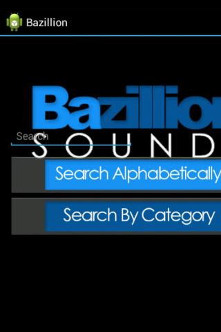 Bazillion Sounds