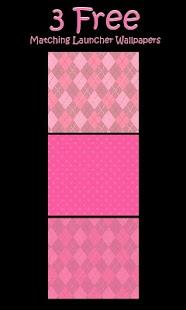 Sock Monkey Pink Go SMS Theme - screenshot thumbnail