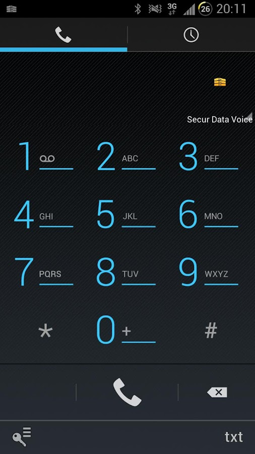 Secur Data Voice- screenshot