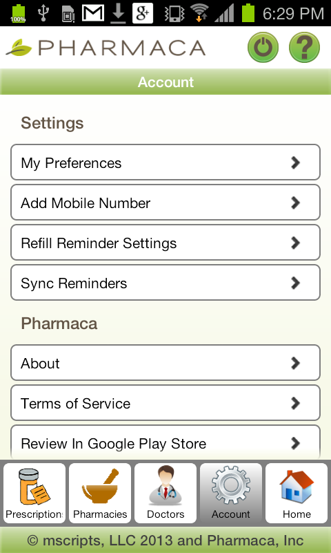 Pharmaca - screenshot
